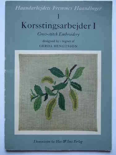 Korsstingsarbejder 1 - Cross-stitch Embroidery
