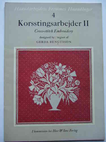 Korsstingsarbejder 2 / Cross-stitch Embroidery 2
