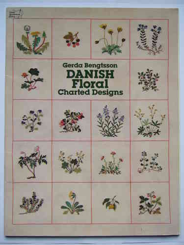 Danish Floral Charted Designs